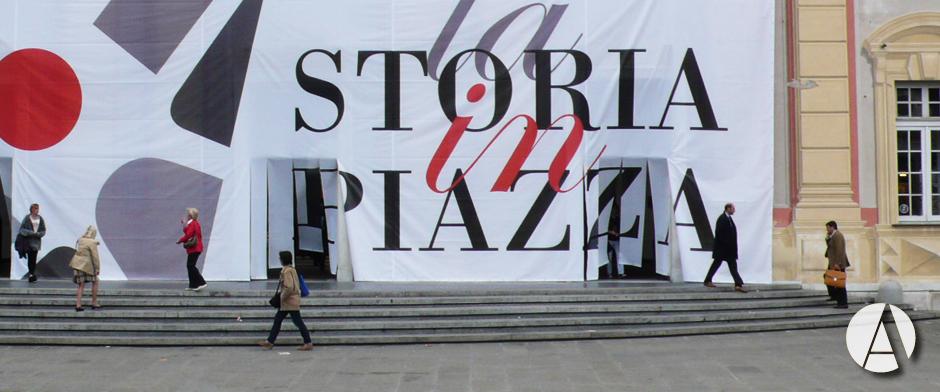 La storia in piazza