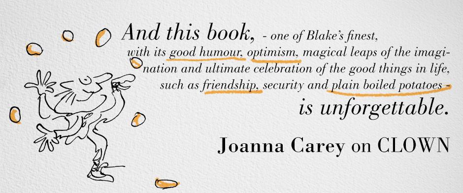 Quentin Blake's CLOWN - Joanna Carey