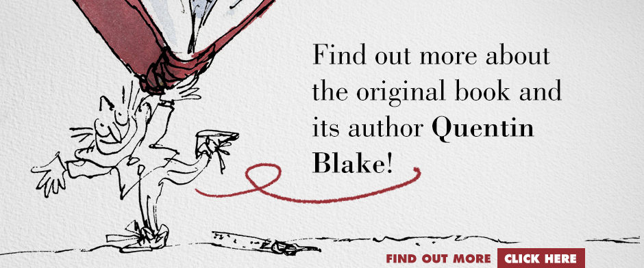 Quentin Blake's CLOWN - QB author