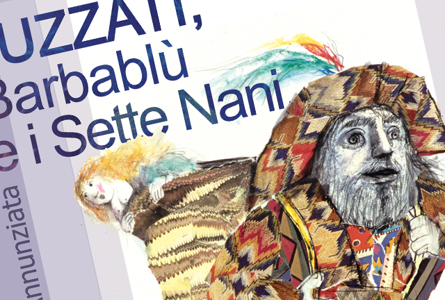 Luzzati, Barbablù e i 7 nani