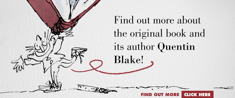 Quentin Blake's CLOWN - QB author